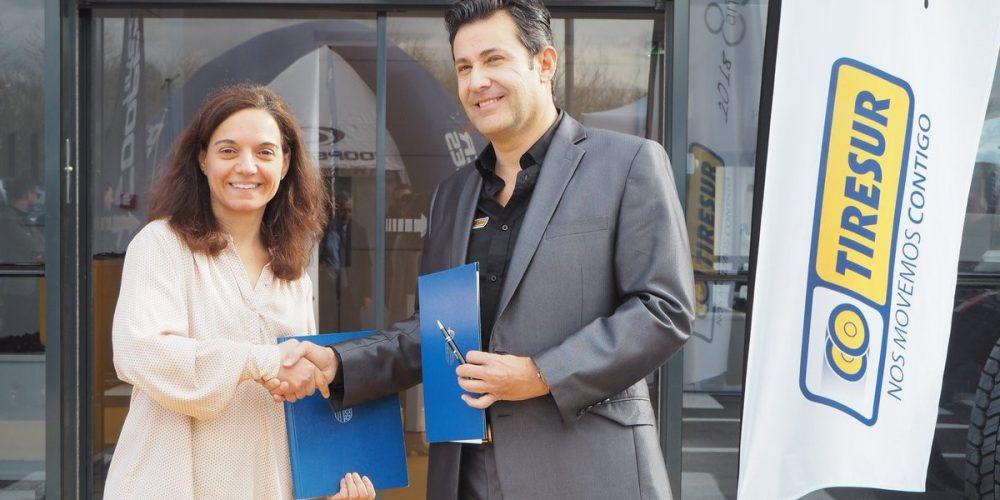 Grupo AM a través de Tiresur firma un acuerdo de colaboración con el ayuntamiento de Getafe.