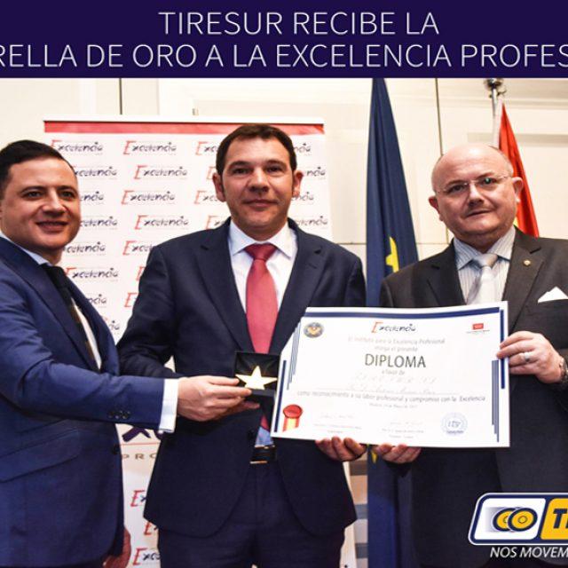 Tiresur, empresa del Grupo AM recibe la Estrella de Oro al Mérito Profesional